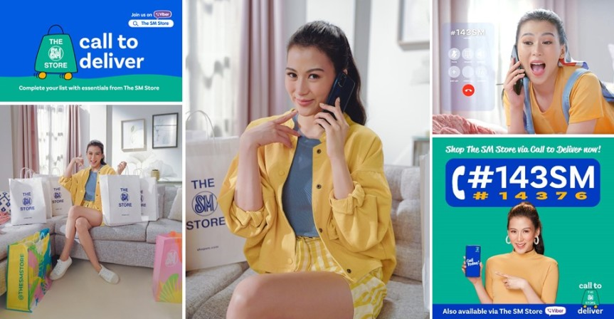 ALEX GONZAGA LOVES THE SM STORE'S CALL TO DELIVER #143SM