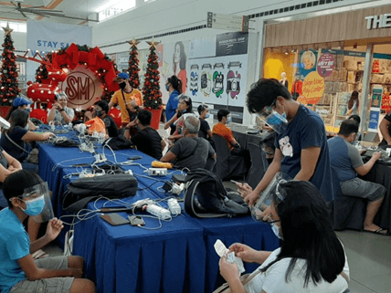 SM malls provide immediate assistance to families affected by TyphoonRolly
