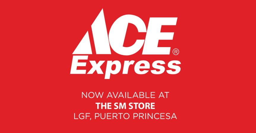 ACE Express is now at The SM Store Puerto Princesa