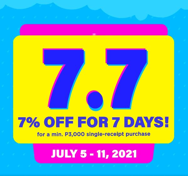 7.7 Sale at The SM Store PuertoPrincesa