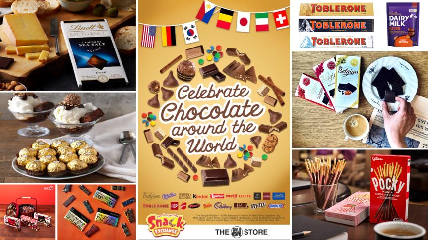 Celebrate Chocolate Around the World with SM SnackExchange