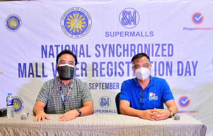 National Synchronized Mall Voter RegistrationDay